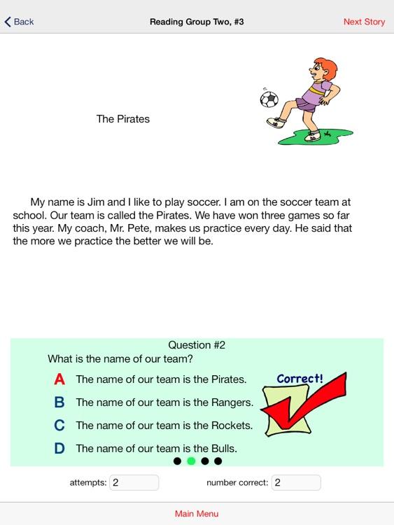 Second Grade Reading Comprehension Practice screenshot-3