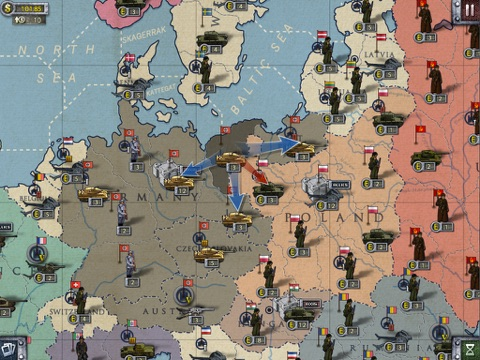 European War 2 Lite for iPad на iPad