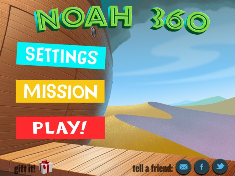 Noah 360 - An Irresistible Interactive Children's Bible Story