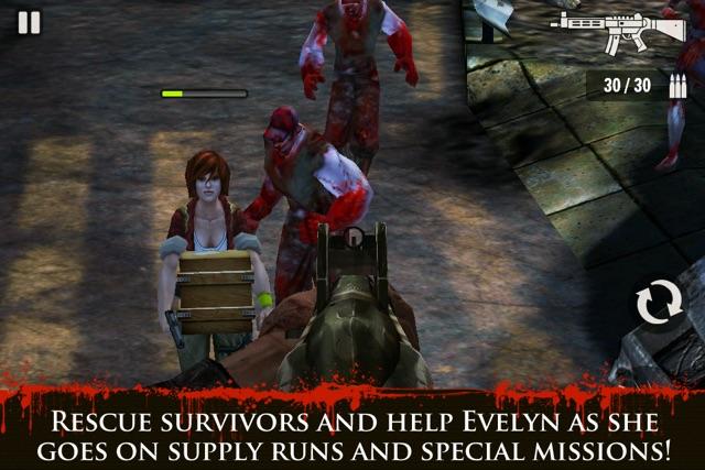 Contract Killer: Zombies Screenshot