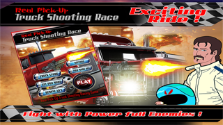 Real PickUp Truck Shooting Race : Free Game