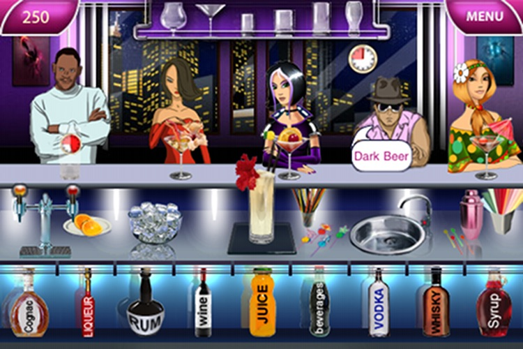 Bar Rush Unlimited.