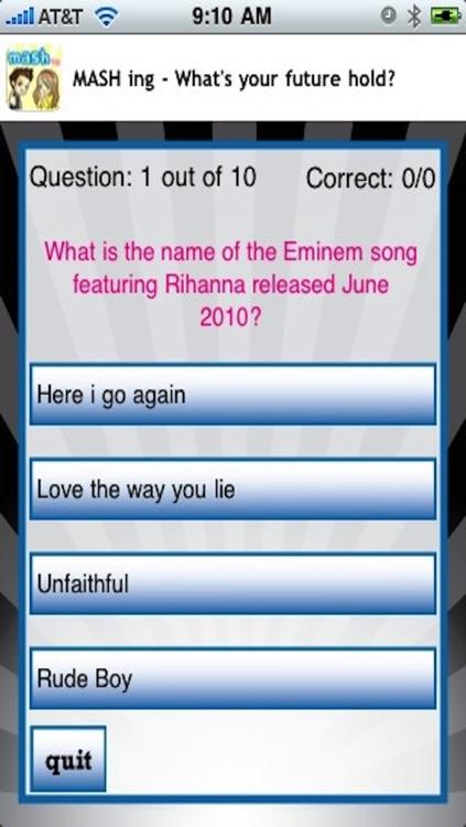 Rihanna Quizzle™