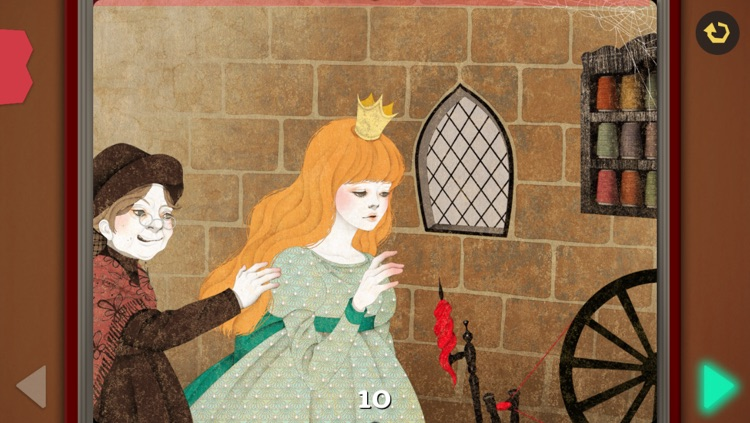 Sleeping Beauty - Pink Paw Books Interactive Fairy Tale Series screenshot-3