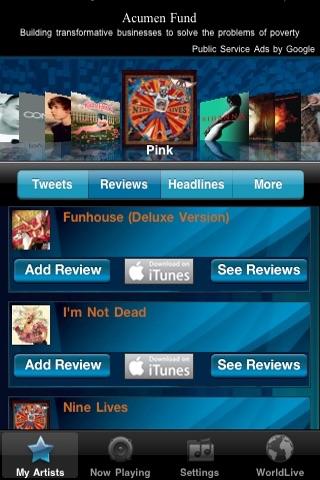 WorldLive Pop screenshot-3