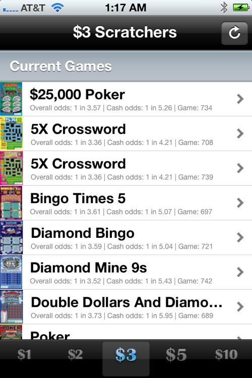 California Lotto Scratchers Tracker screenshot-4