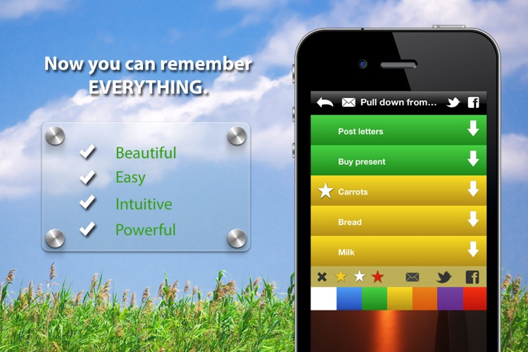 Remember free - Easy and fast to do lists screenshot-3