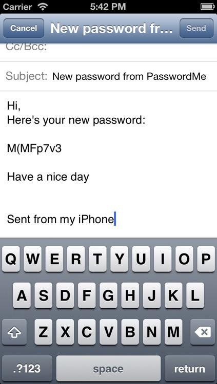 PasswordMe screenshot-3