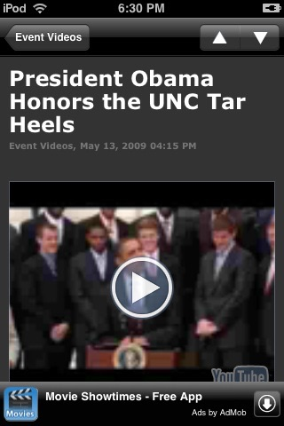 Obama Administration - White House News screenshot-4