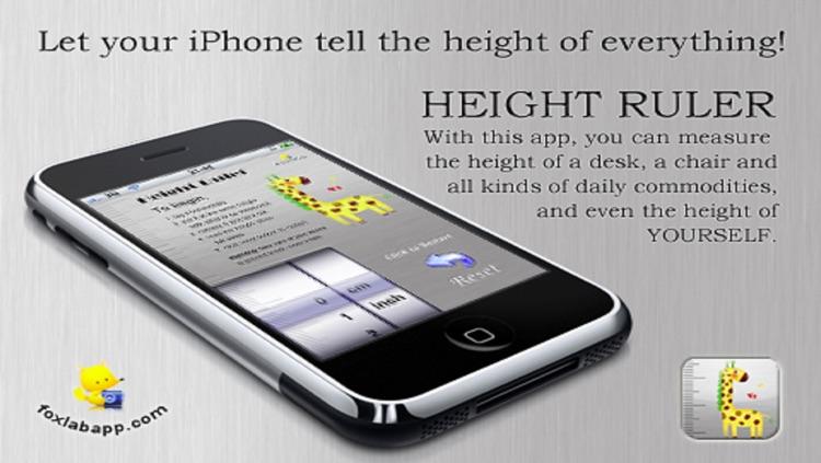 Height Ruler