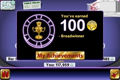 Big Win Blackjack™ screenshot for iPhone