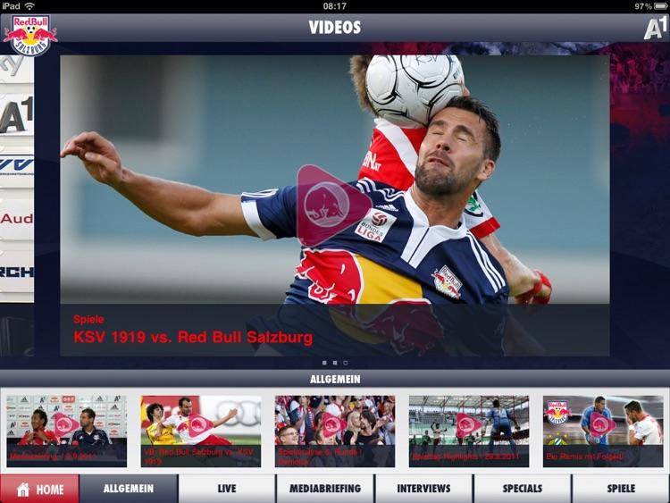 Red Bull Salzburg HD screenshot-4