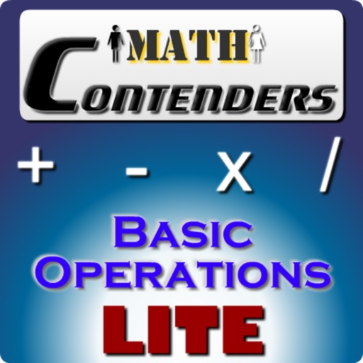 Math Contenders Basic Operations Lite icon