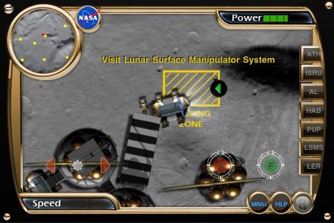NASA Lunar Electric Rover Simulator