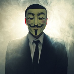 Anonymous Mask - Cool Guy Fawkes (aka Anonymous Mask)