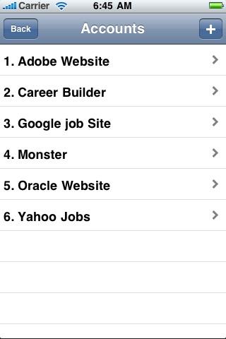 Screenshot of Good Job