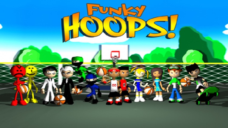 Funky Hoops Basketball screenshot-0