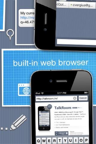 TalkRoom - Multiservice instant messenger screenshot-3