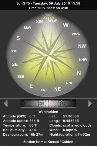SunGPS screenshot-1