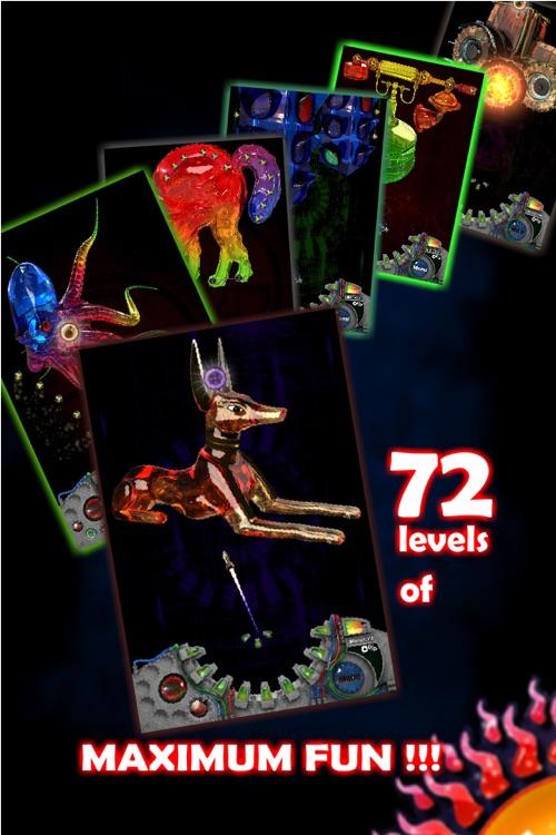 Crystal Crusher HD - Free 3D shooting puzzle games screenshot-3