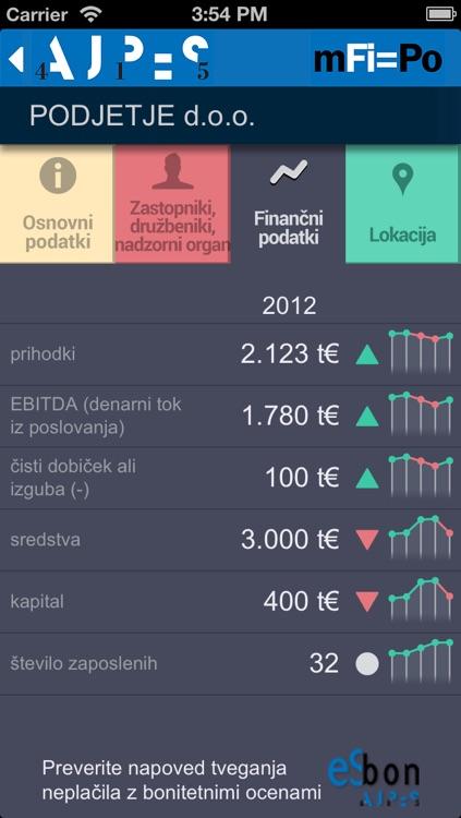 mFi=Po AJPES screenshot-3