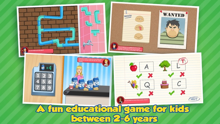 Community Helpers Play & Learn: Educational App for Kids
