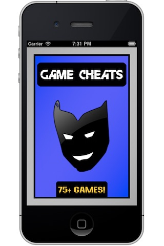 Game Cheats for iPhone/iPod Touch screenshot-0