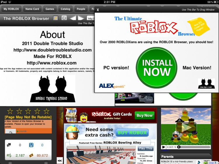 The Browser for ROBLOX screenshot-3