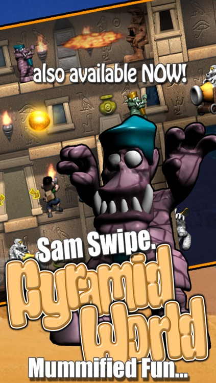 Sam Swipe Samurai World screenshot-4