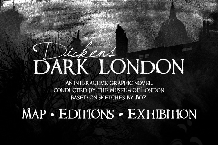 Streetmuseum: Dickens' Dark London
