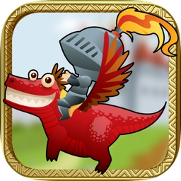 Flappy Dragon Knight Game