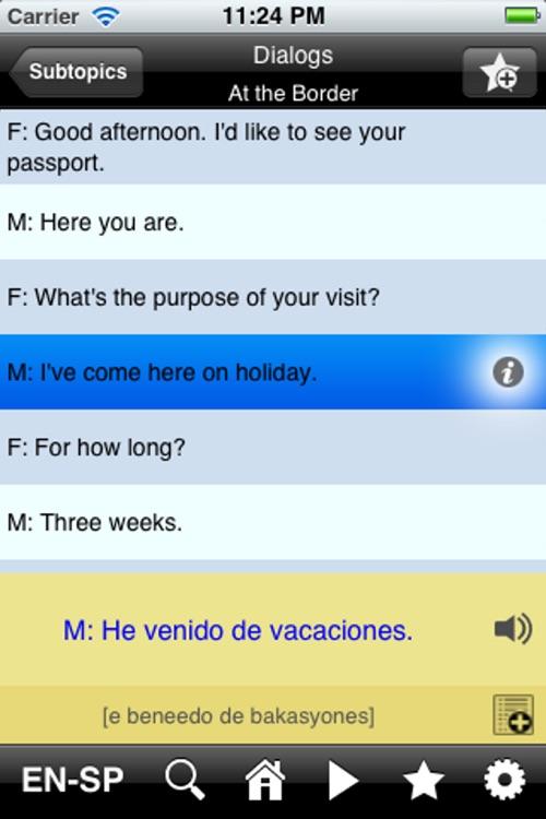 EasyTalk Learn Spanish Free
