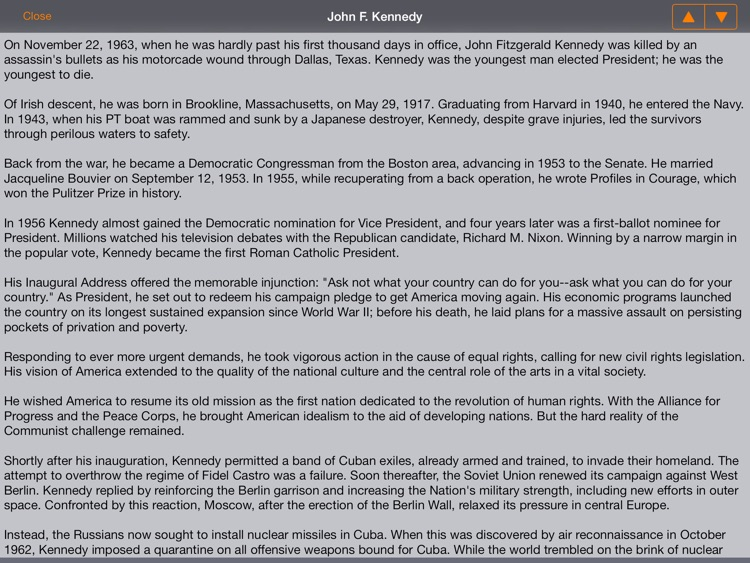 US Presidents (American President Life History) screenshot-4