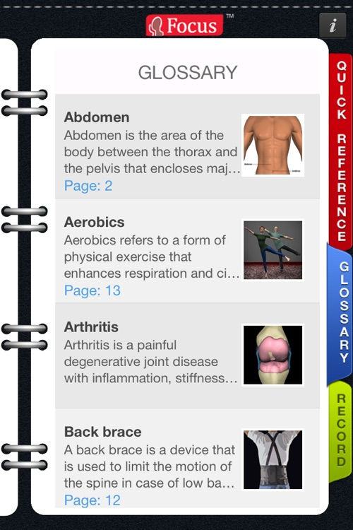 Animated Quick Reference Guide - Backpain screenshot-3