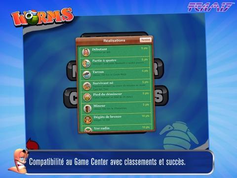 Screenshot #5 pour Worms HD