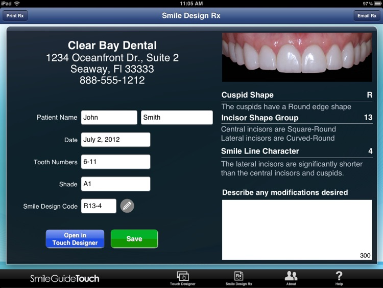 Smile Guide Touch Pro screenshot-2