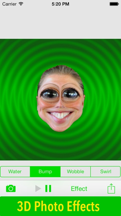 Faceffects : 3D Animated GIFs