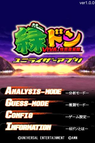 緑ドンVIVA!情熱南米編 ユニライザーアプリ-有料パチスロアプリ, ユニバーサルエンタテインメント, パチスロ-320x480bb