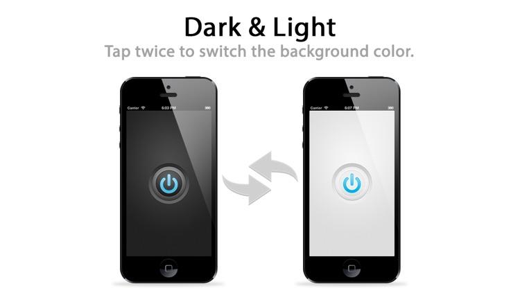 Lighty — The no–nonsense flashlight app screenshot-3