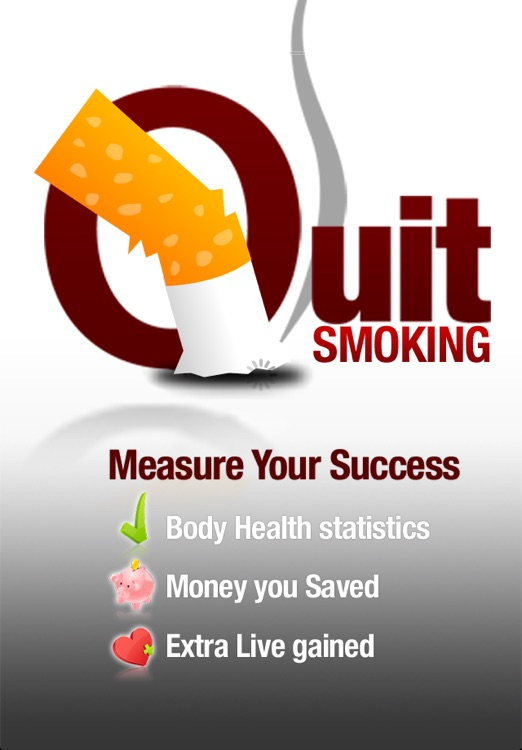 iQuit - Stop Smoking Counter screenshot-0