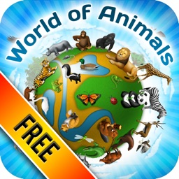 The World of Animals for kids : Free version