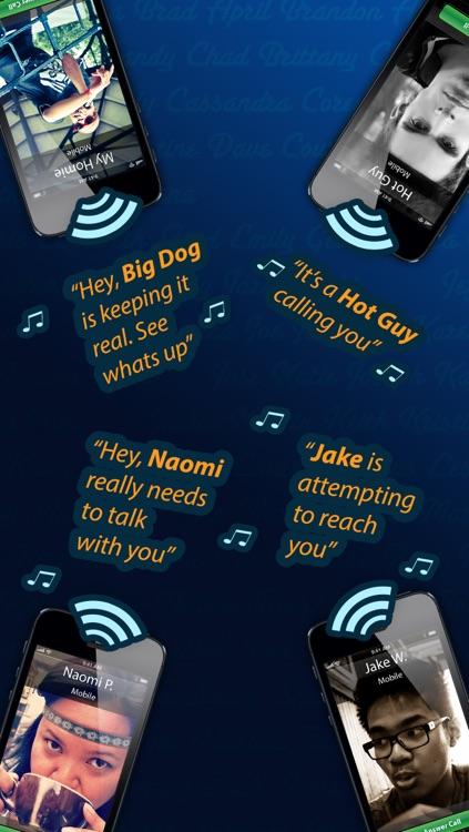 Free Caller ID Ringtones - HEAR who is calling screenshot-3