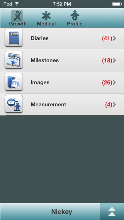 Baby Log - Activities, Growth and Milestones screenshot-4
