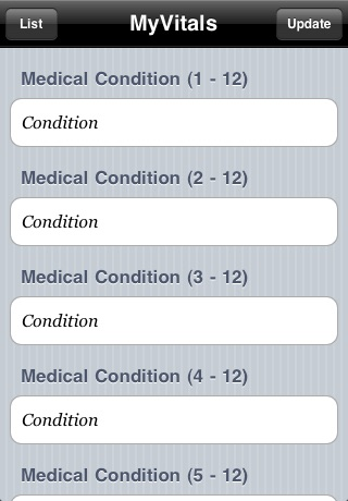 MyVitals screenshot-2