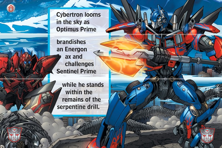 Transformers Dark of the Moon Mix & Match Book screenshot-2