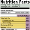 Food Labels With Nutritional Facts