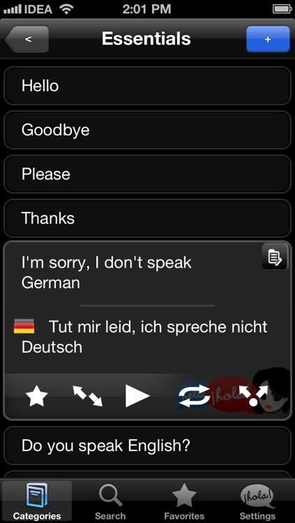 Lingopal German LITE - talking phrasebook