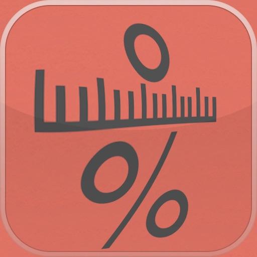 Fractions Decimal Percent & Ruler Converter