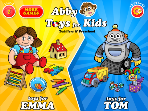 Abby - Toys - Games For Kids screenshot 1