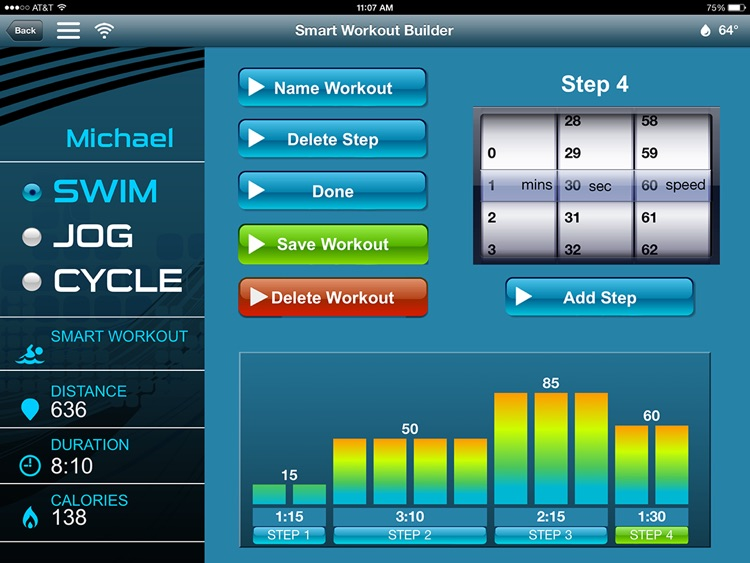 SNAPP SwimNumber App for the Michael Phelps Swim Spa by Master Spas